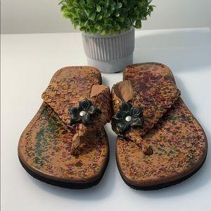 Shoes - Handmade Leather Flip Flops